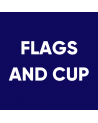 Flags and Cup